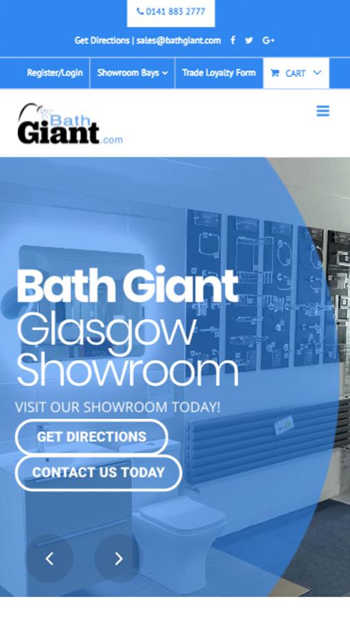 Bath Giant Responsive