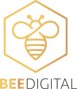 Bee Digital Logo Black