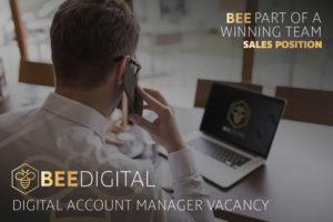 Bee Digital Vacancy Ad