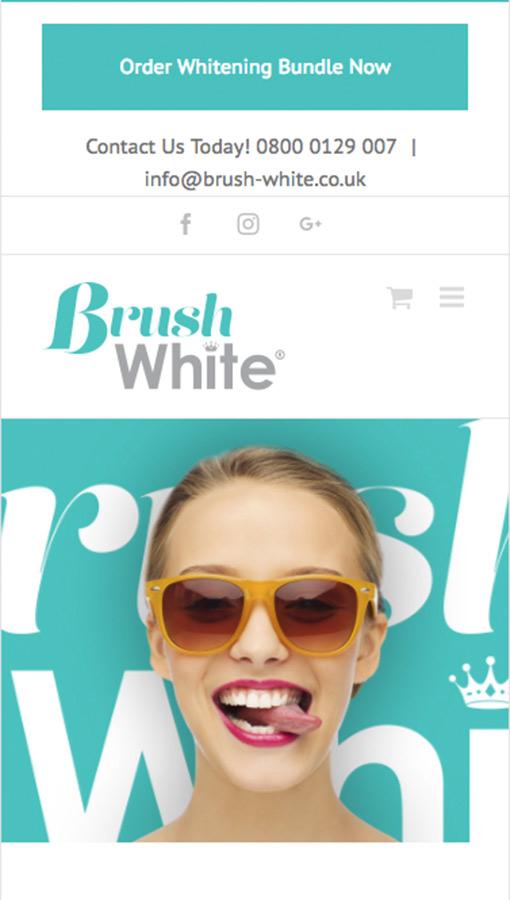 Brush White Responsive
