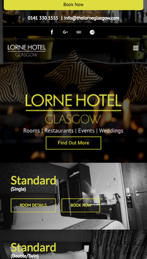 Lorne Hotel Screen