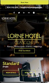 Lorne hotel iphone